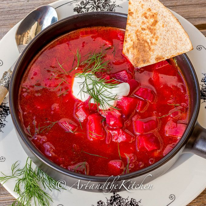 Country Style Borscht | Art and the Kitchen