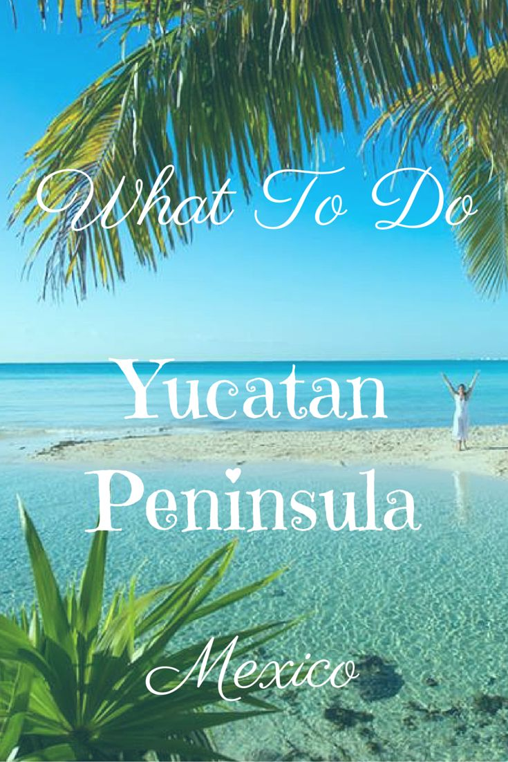 Planning at trip to the Yucatan Peninsula in Mexico? Find out the best things to see and do - perfect tips for a one or two week trip.