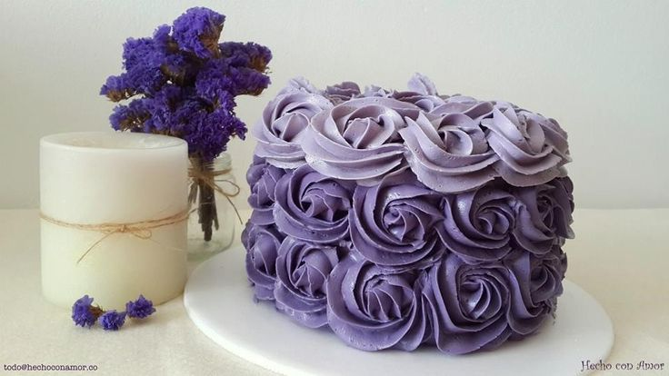 Lovely ombre cake