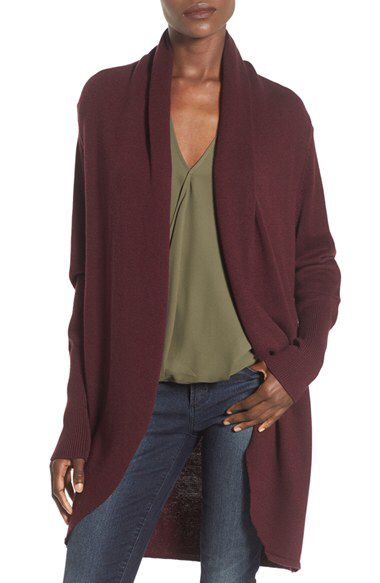 Leith Leith Shawl Collar Cocoon Cardigan available at #Nordstrom
