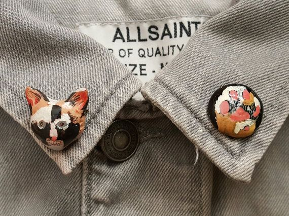 Hey, I found this really awesome Etsy listing at https://www.etsy.com/listing/468143991/cat-collar-pins-collar-pins-kitty-paws