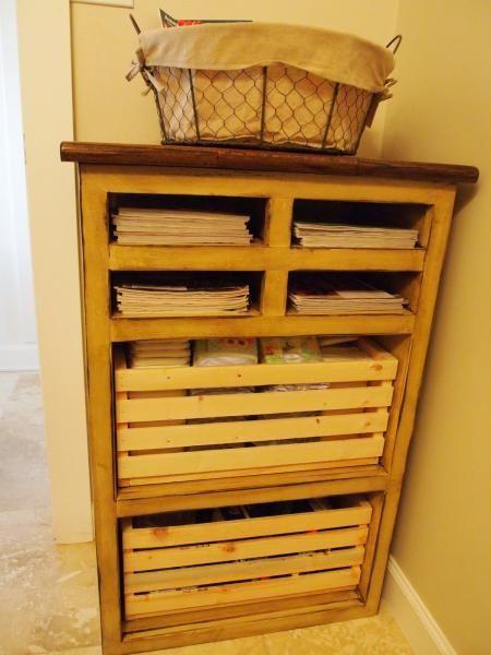 DIY Furniture : DIY Storage Tower