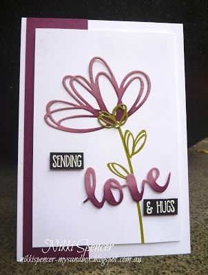 """It's Stamp Review Crew time again and this hop we are showcasing the lovely """"Sunshine Sayings"""" set. The sentiments are lots ..."""