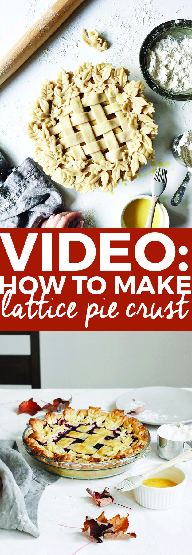 youtube how to make homemade pie crust