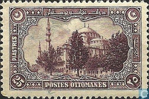 1920 Turkey - Suleiman Mosque
