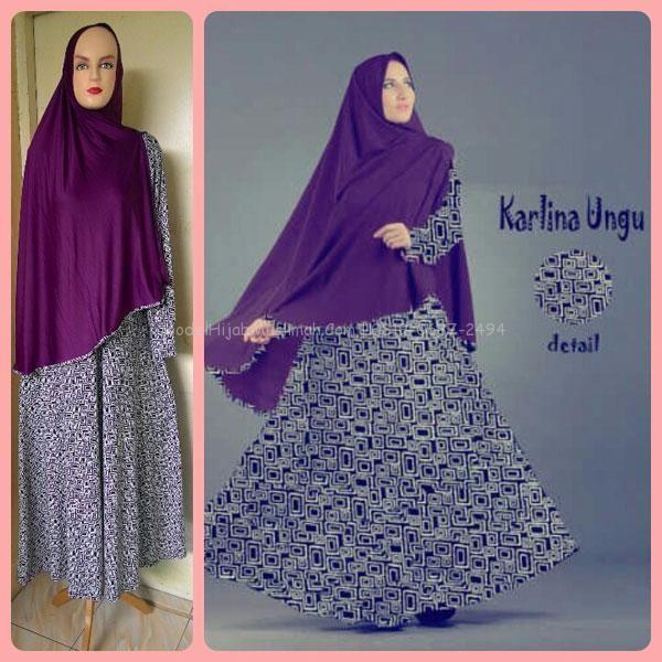 Baju Gamis Murah Karlina