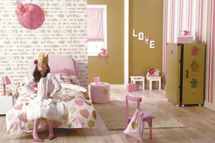 Pokój małej dziewczynki: 20 pomysłów na bajkowe tapety  - zdjęcie numer 13