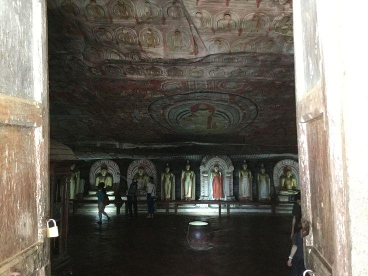 Dambulla caves Sri Lanka 2017