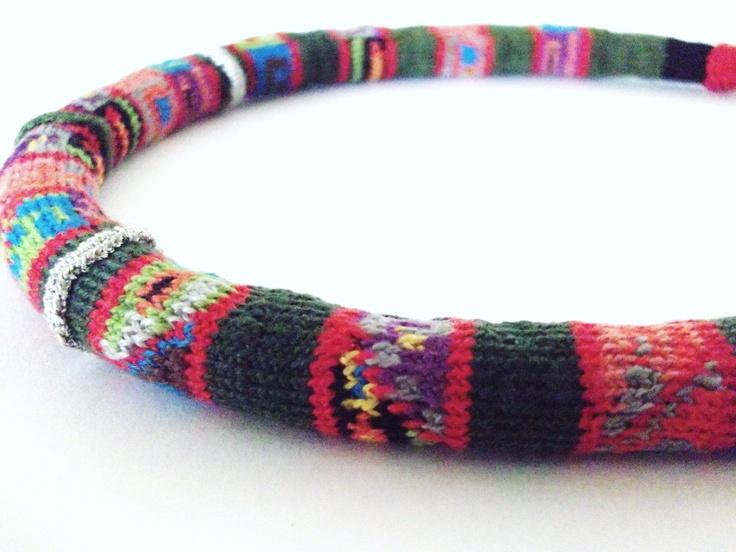 Manta Nortina Necklace/Collar manta nortina