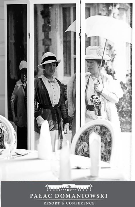 Takie wytworne damy odwiedzały kiedyś Pałac