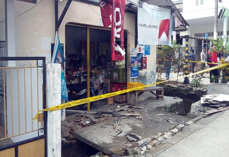 Ledakan di Depok, Satu Korban Luka | News | Arah.Com