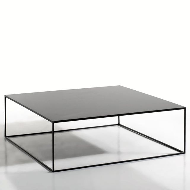 Best 25 table basse metal ideas on pinterest table basse bois metal mesas - Table basse carree metal ...