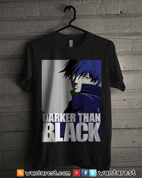17 Best images about Darker than Black anime t-shirts on Pinterest ...