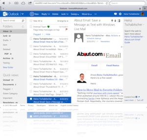 Top 10 Free Email Services 2015: Outlook.com