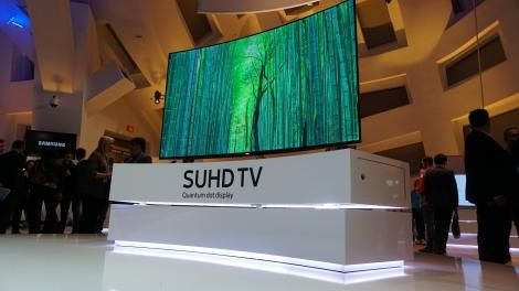 Hands-on review: CES 2016: Samsung SUHD Quantum Dot Display - http://www.stylecage.com/hands-on-review-ces-2016-samsung-suhd-quantum-dot-display/
