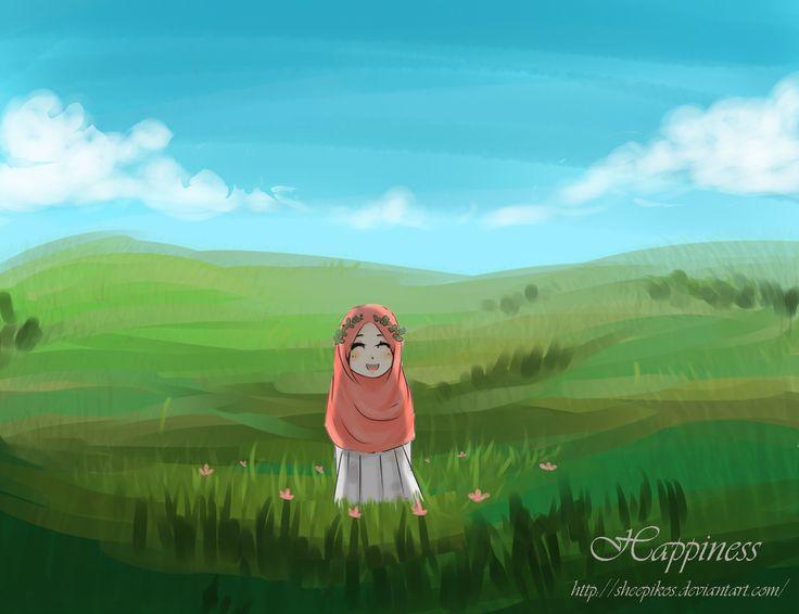 Happiness by sheepikos.deviantart.com on @DeviantArt