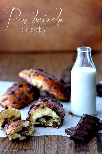 Queste piccoli pan brioche al cioccolato sono lideale per quelle mattine in cui tirarsi fuori...