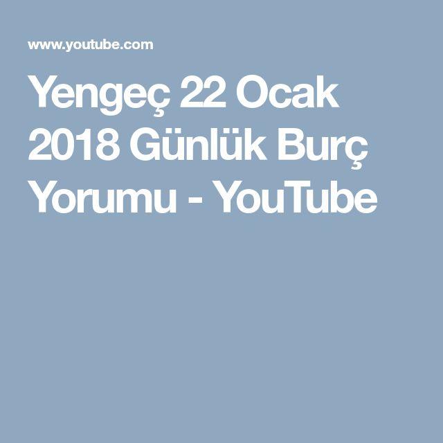 Yengeç 22 Ocak 2018 Günlük Burç Yorumu - YouTube