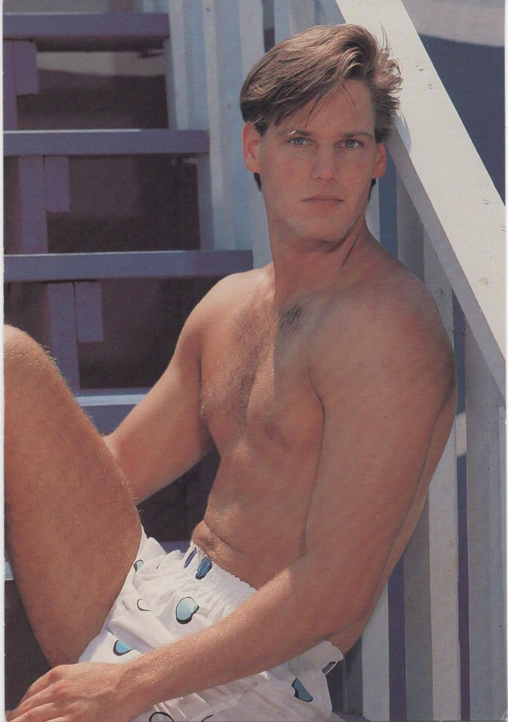 Hallmark Ambassador Birthday Card for the Ladies!!, c1990, used, good shape, Male Hunk by VintageNEJunk on Etsy