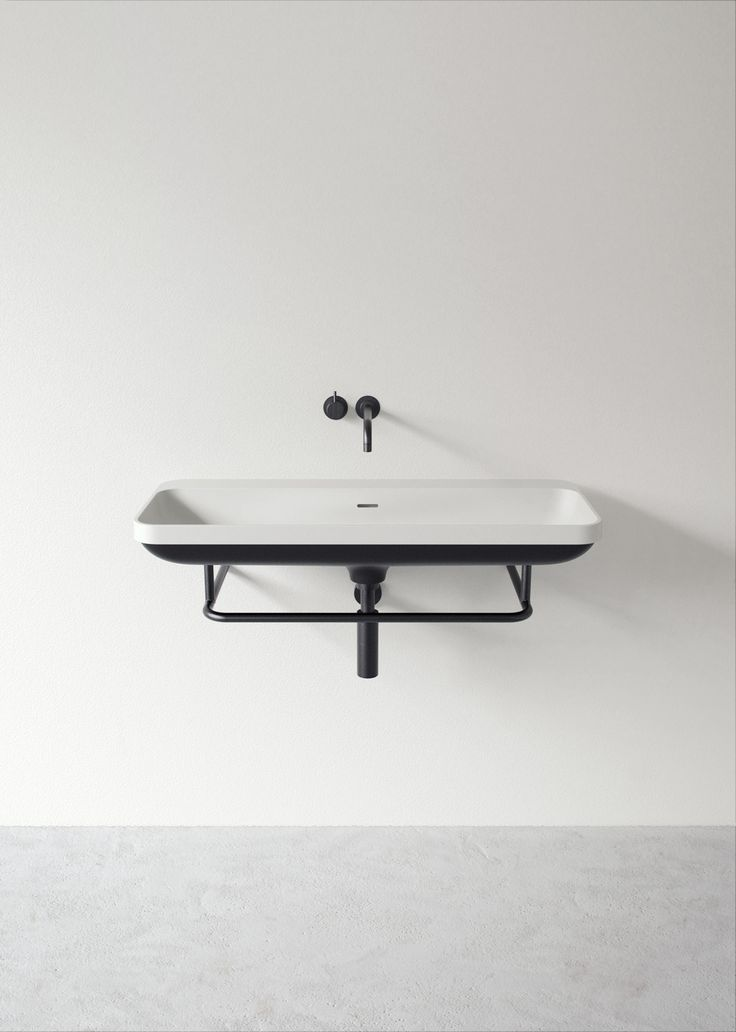 Aim, a new washbasin for Not Only White, design by Joost van der Vecht