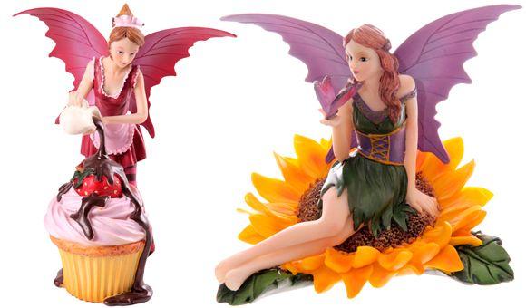 ¡Nueva coleccion de figuras de #hadas en la tienda! #cupcakes #fairy