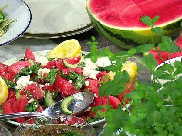 Vattenmelonsallad | Recept från Köket.se