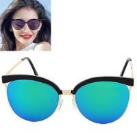 Cat Eye Shape Frame Decorated Simple Design Forever21 Bluegreen. Simple and must have it! REPIN if you love it.😍 Only 135 IDR