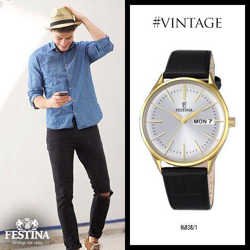Uno stile estivo con dettagli vintage e un accessorio super classy.