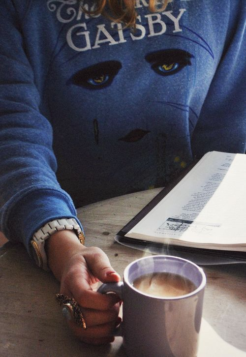 gatsby sweatshirt.