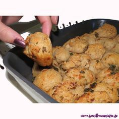 Knoblauch-Zupfbrot - pull apart bread