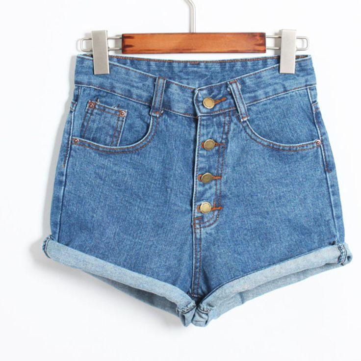Купить товар2015 короткие джинсы мода марка лето женщин шорты широкий хлопок свободного покроя женские тонкие высокой талией джинсовые шорты чистый C1082 в категории Шортына AliExpress. 2015 Short Jeans Fashion Brand Summer Style Women Shorts Loose Cotton Casual female Slim High Waist Denim Shorts Pure C1