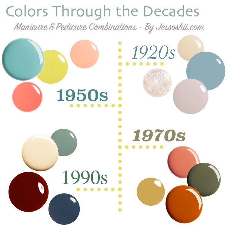 Nail Polish Picks: Colors Through the Decades