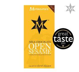 Tableta de Ciocolata Open Sesame #montezumas #ciocolata #susan #ciocolatalapte #dulciuri #cadouri #ideicadouri
