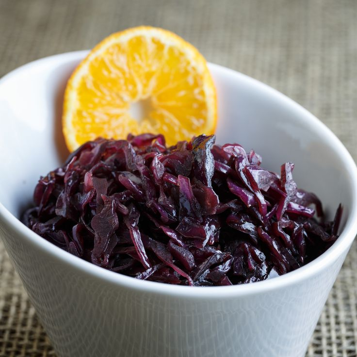 Rødkål - Pickled Red Cabbage - a traditional danish side for the christmas dinner, but it's also very good with medisterpølse and meatballs/frikadeller or in sandwiches.