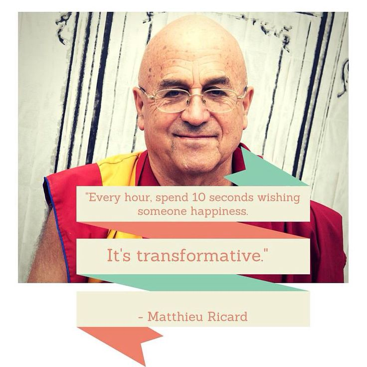 In the words of Matthieu Ricard... #Happiness