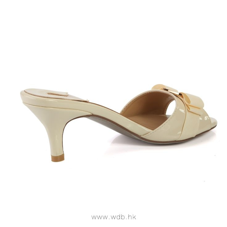 """""""2.5 inch Champagne Bowknot Leather shoes $41.98"""""""