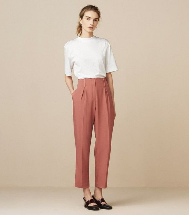 Finery Oliver High Waist Peg Trousers