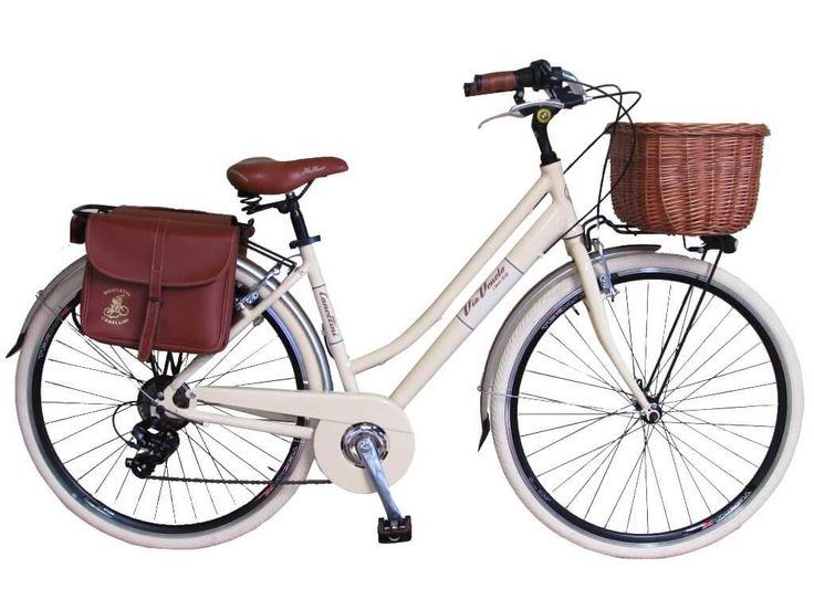 Tenemos 1 unidad en color Crema que busca dueña urgentemente. Puede ser tuya por 329 Eur (cuando el precio normal es de 359 Eur)  https://www.avantumcompanystore.com.es/tienda-de-bicicletas-madrid/?466,via-veneto-retro-alu-mujer  #biciclasica #pedaleaconestilo #avantumbikes