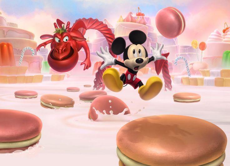 Die besten 25 Mickey castle of illusion Ideen auf Pinterest
