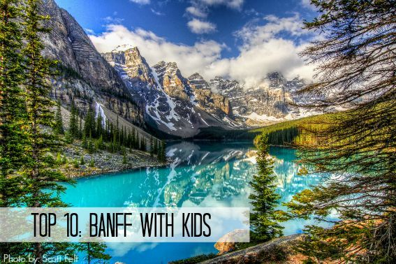 The top 10 Banff attractions for families include cultural and historic attractions, family fun, and amazingly beautiful lakes, waterfalls, and valleys.