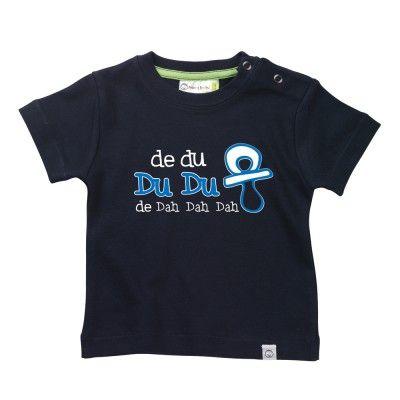 DU DU  Baby T-Shirt by Hairy Baby