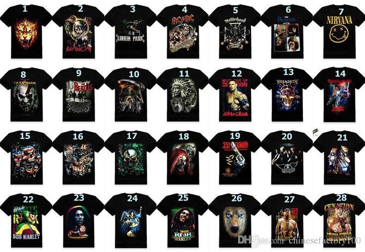 Best Quality 3d Shirts Men'S Clothing Creative Bone Skull Printed Indian Wolf T Shirts Bob Band Fashion Novelty Shirt Short Sleeves Black Summer Dhl At Cheap Price, Online T Shirts | Dhgate.Com