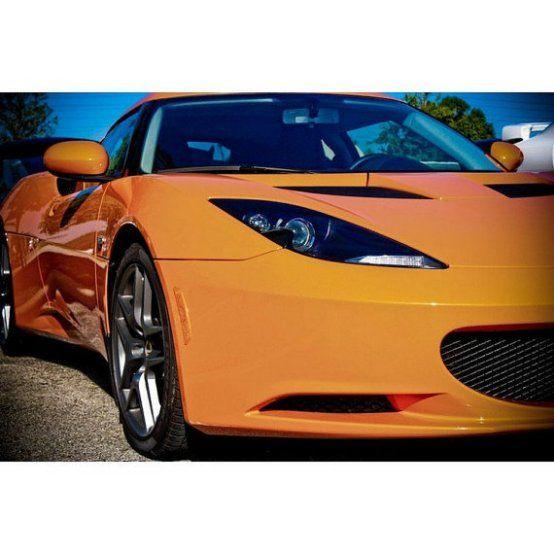 Orange Lotus Elise Sports Car