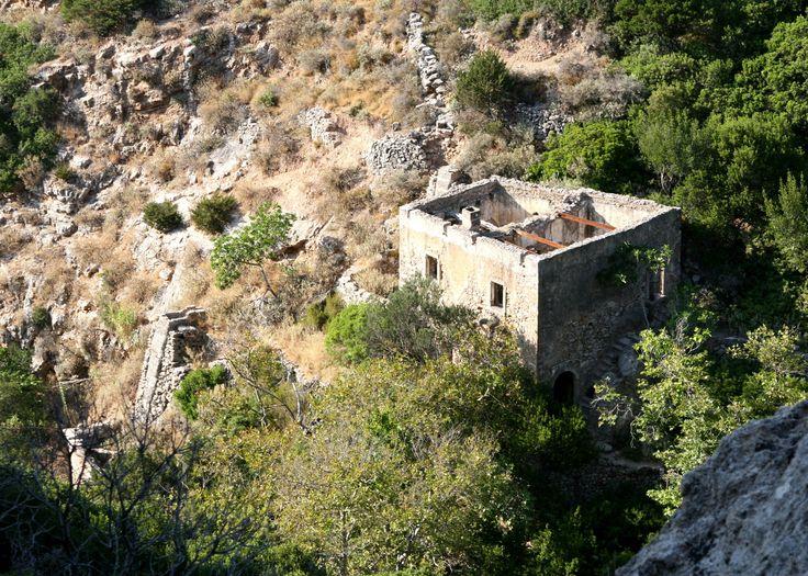 Waterfalls of Fonissa, Mylopotamos,Kythita