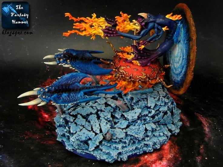 Chaos Daemons Burning Chariot of Tzeentch