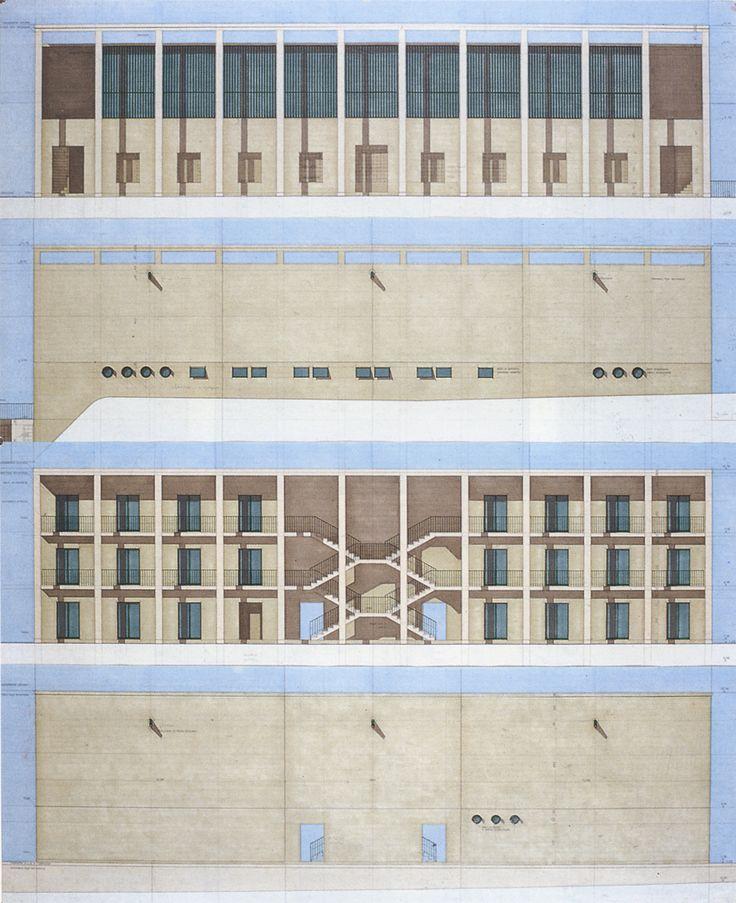 Giorgio Grassi | Residencia de Estudiantes | Chieti, Italia | 1976