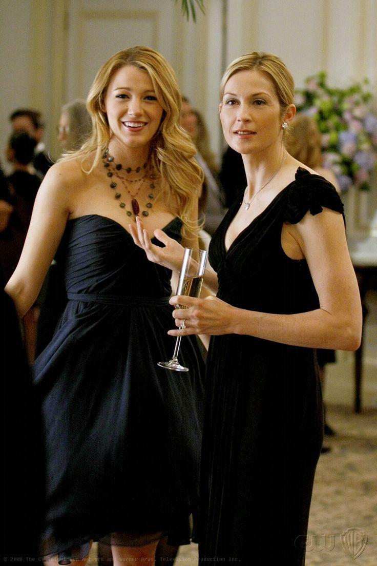 Best mother and daughter t.v tandem: Serena and Lily Van Der Woodsen