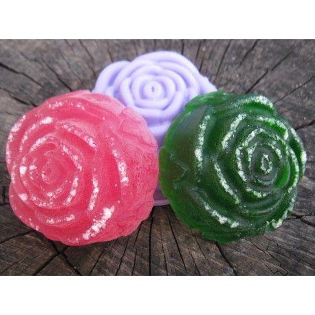 Sada na výrobu mydla - zmrznuté ruže