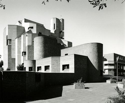 Christi Auferstehung church, Köln-Melaten, Gottfried Böhm, 1964-70