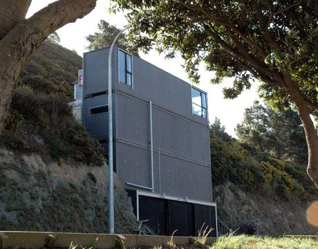 Shipping Container Home: Ross Steven, Shipping Container Houses, Shipping Container Homes, Architecture, Shipping Containers, Containerhomes, Ships Container Home, New Zealand, Ships Container Houses
